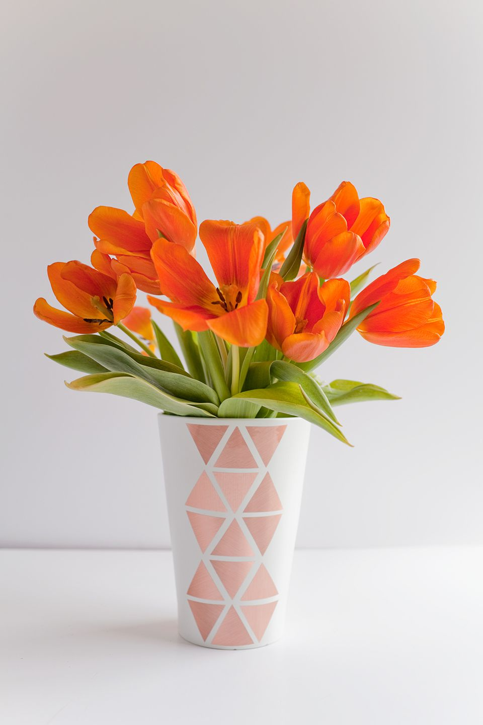 35 diy vases perfect for spring diy geometric copper vase reviewsmspy