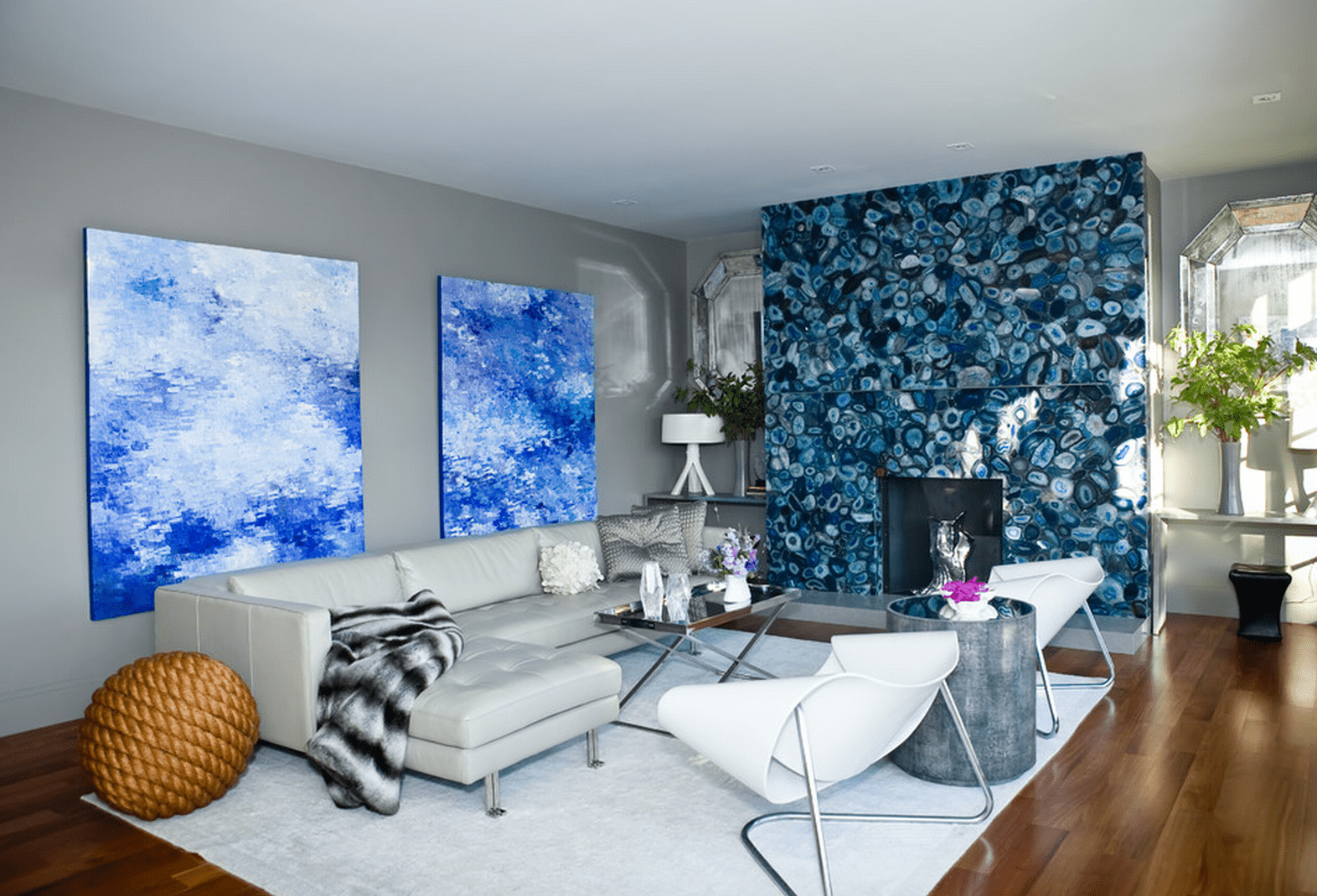 Modern Living Room Blue 21 modern living room design ideas