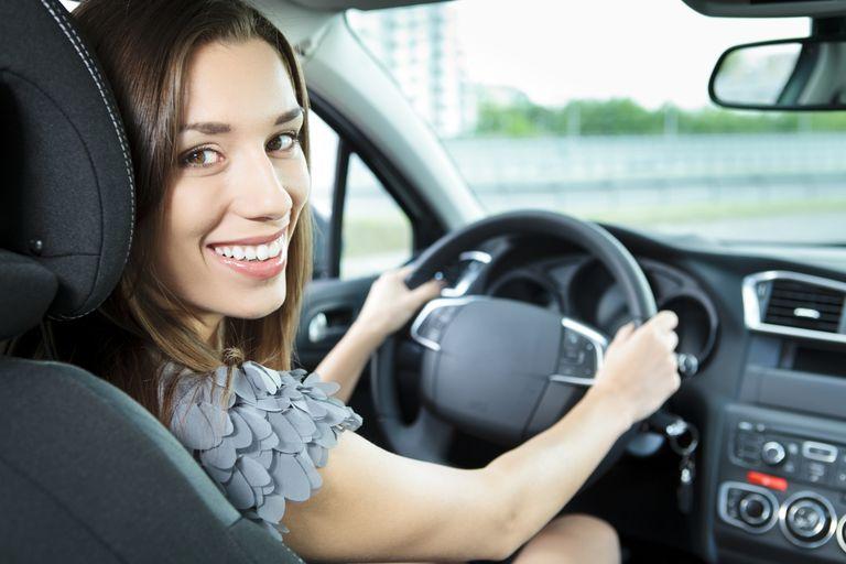 smiling steering wheel controls