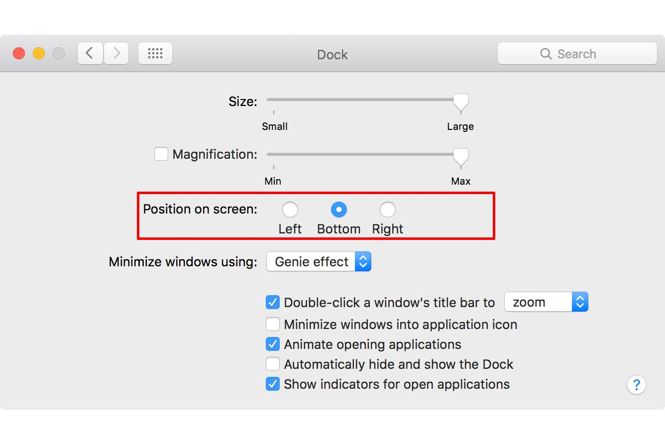 5 tips for how to hide or show the macs dock control the docks location and alignment on your mac with these tips ccuart Image collections