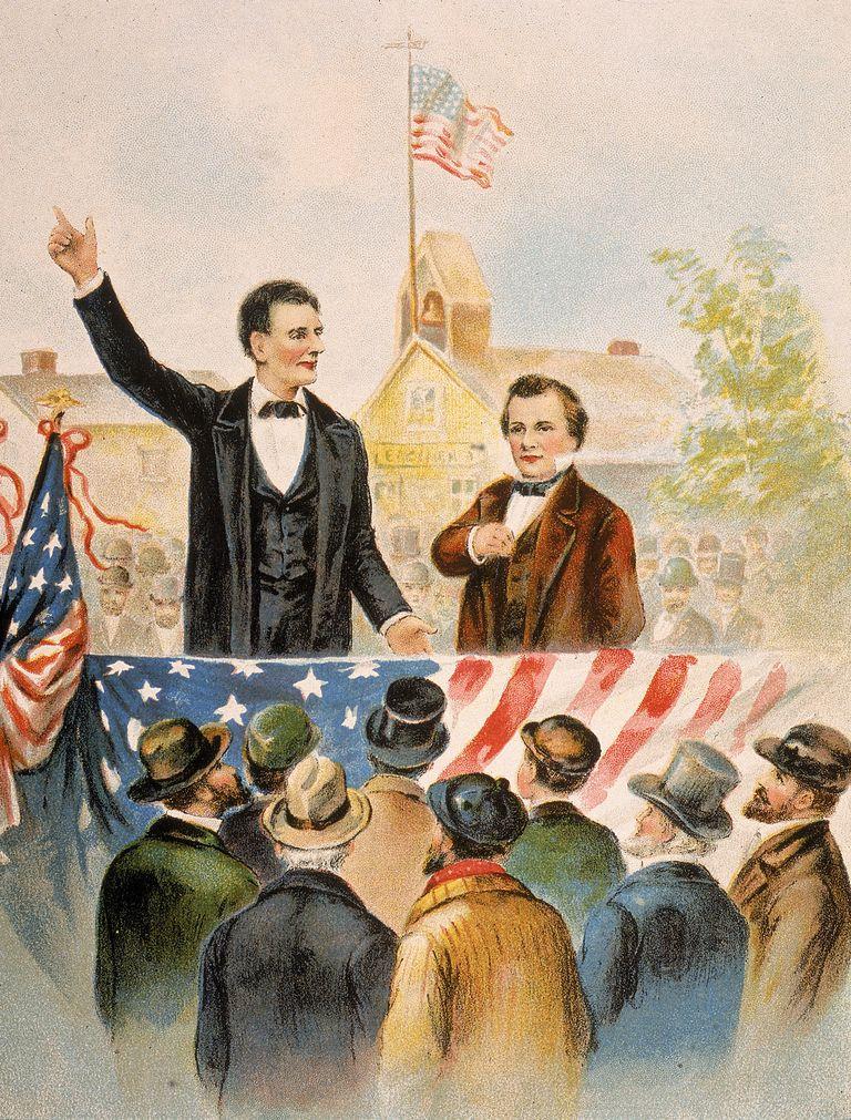 History Of The Lincoln Douglas Debates