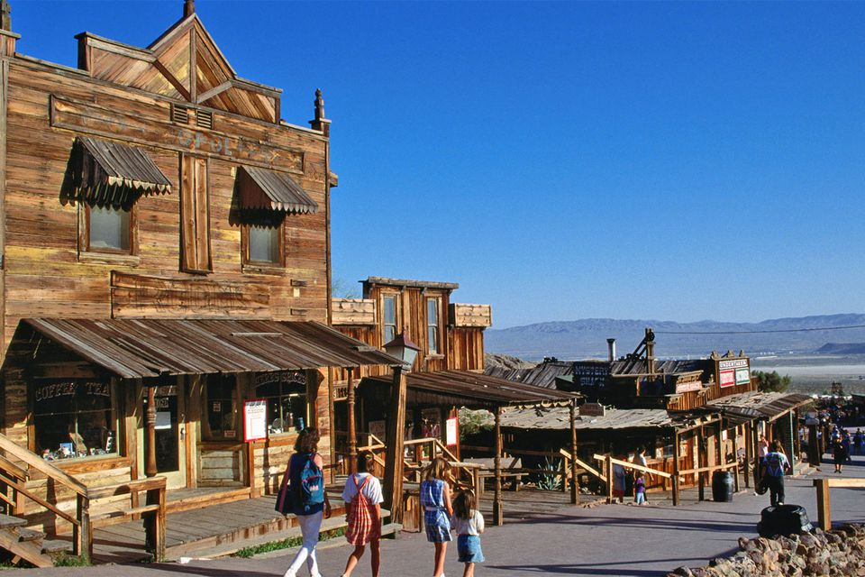 Calico Ghost Town in the California Desert