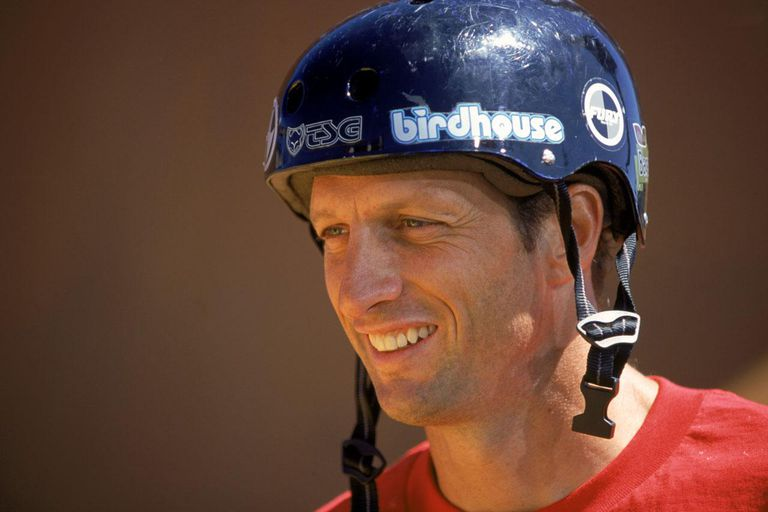 SAN FRANCISCO - AUGUST 19: Tony Hawk looks on during the X-Games on August 19, 2000 in San Francisco, California.