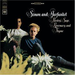 Simon and Garfunkel - 'Parsley, Sage, Rosemary and Thyme' Album Cover