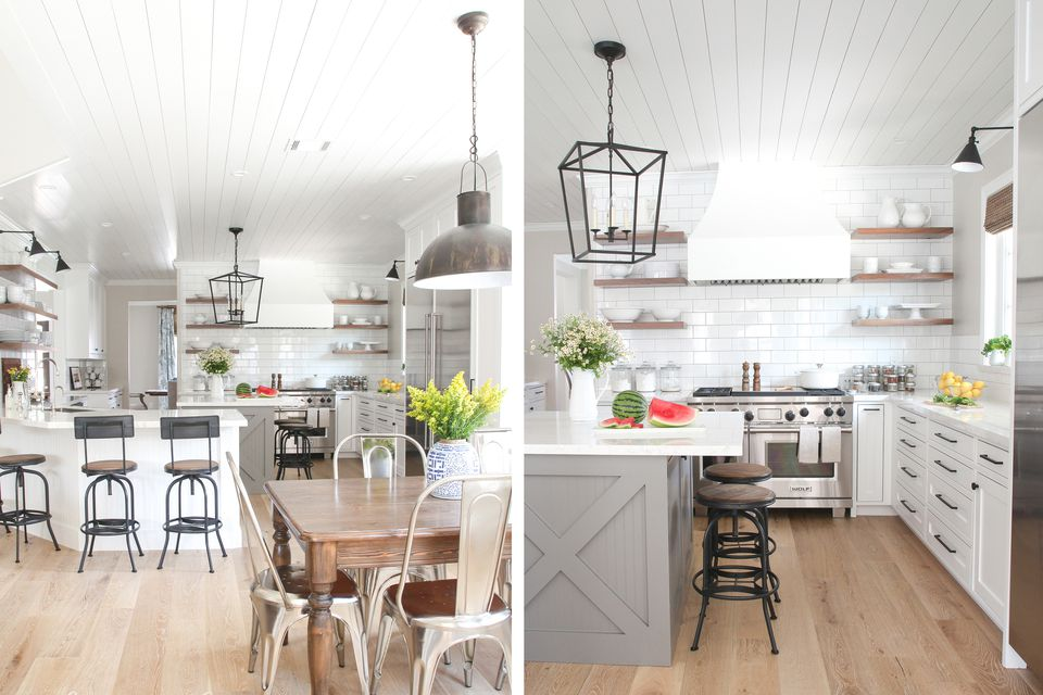 modern farmhouse kitchen large holly - Modern Farmhouse Kitchen