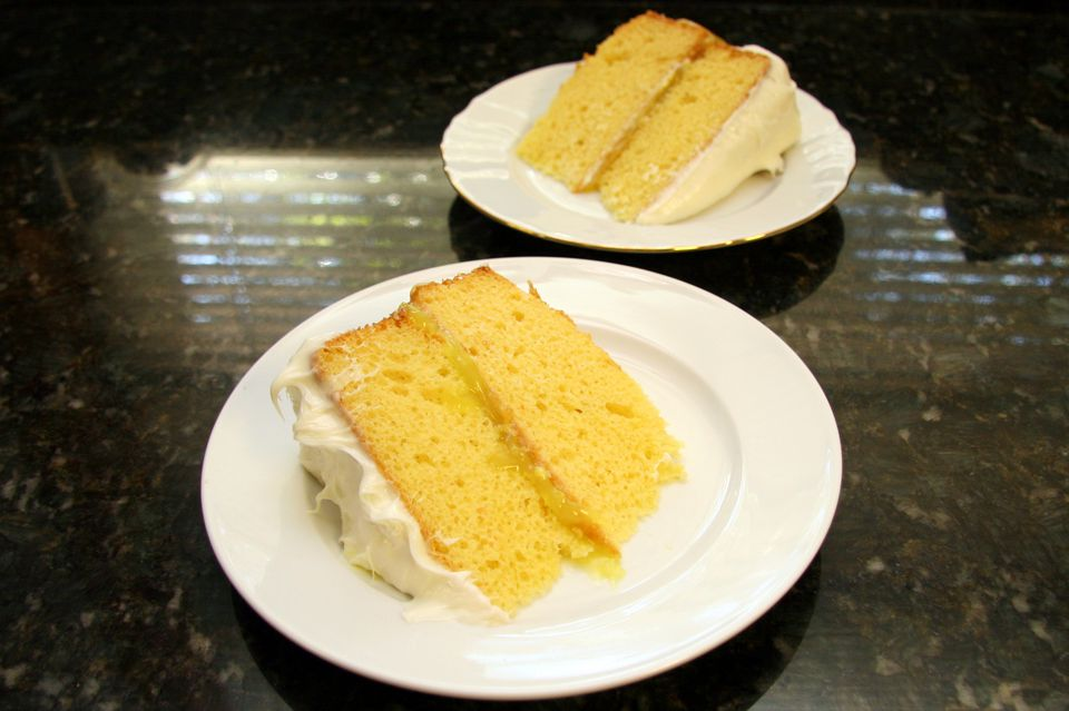 Lemon Pie Cake