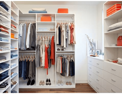 Best Closet Storage Solutions 2648418 on great bathroom designs for small spaces