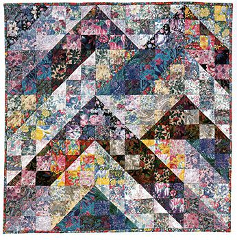 Split Nine Patch Quilt Pattern