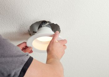 Easily Convert A Ceiling Light Into Recessed Lighting