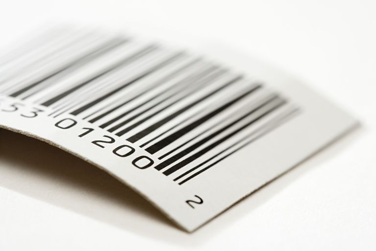 Image of a UPC Code