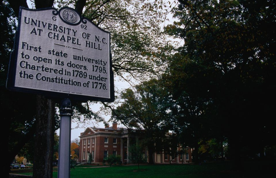 The first state university in the USA was the University of North Carolina at Chapel Hill in 1795.