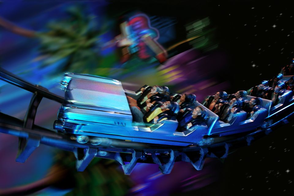 The thrilling Rock 'n' Roller Coaster Starring Aerosmith