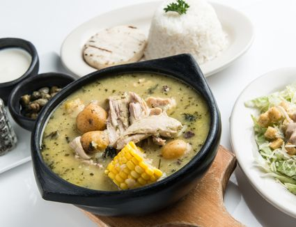 Top leftover turkey recipes hearty ajiaco colombian chicken and potato stew forumfinder Image collections
