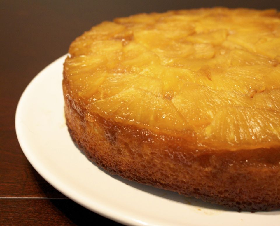 Pineapple dump cake made from cake mix