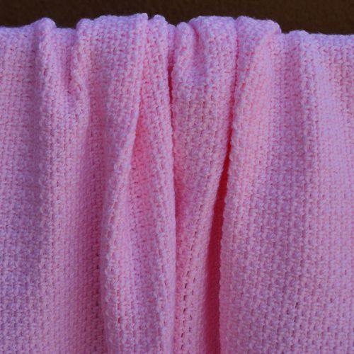 Girl's Pink Baby Blanket