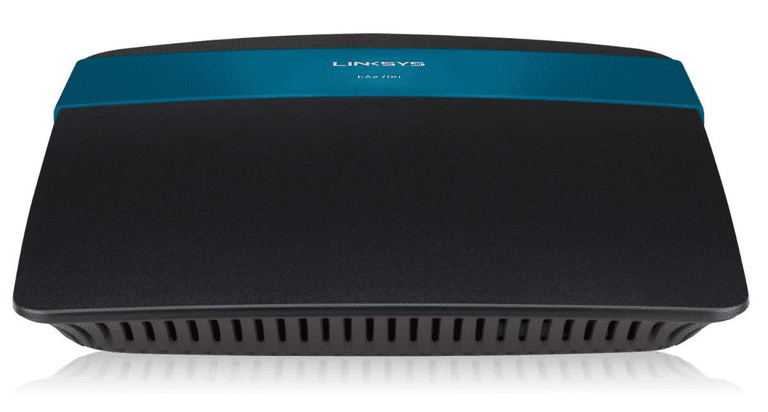 Picture of a Linksys EA2700 N600 wireless router