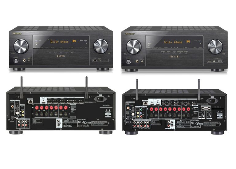 Pioneer Elite VSX-LX101 and VSX-LX301 Home Theater Receivers