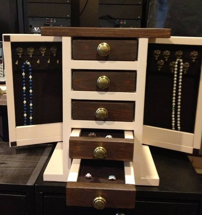 9 free diy jewelry box plans solutioingenieria Image collections