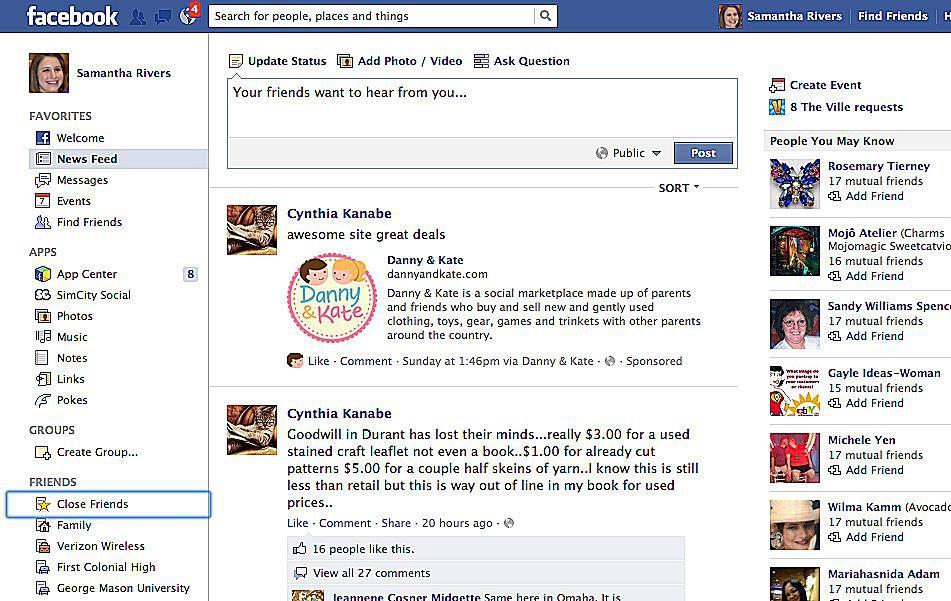 learn facebook tutorial how facebook works. Black Bedroom Furniture Sets. Home Design Ideas