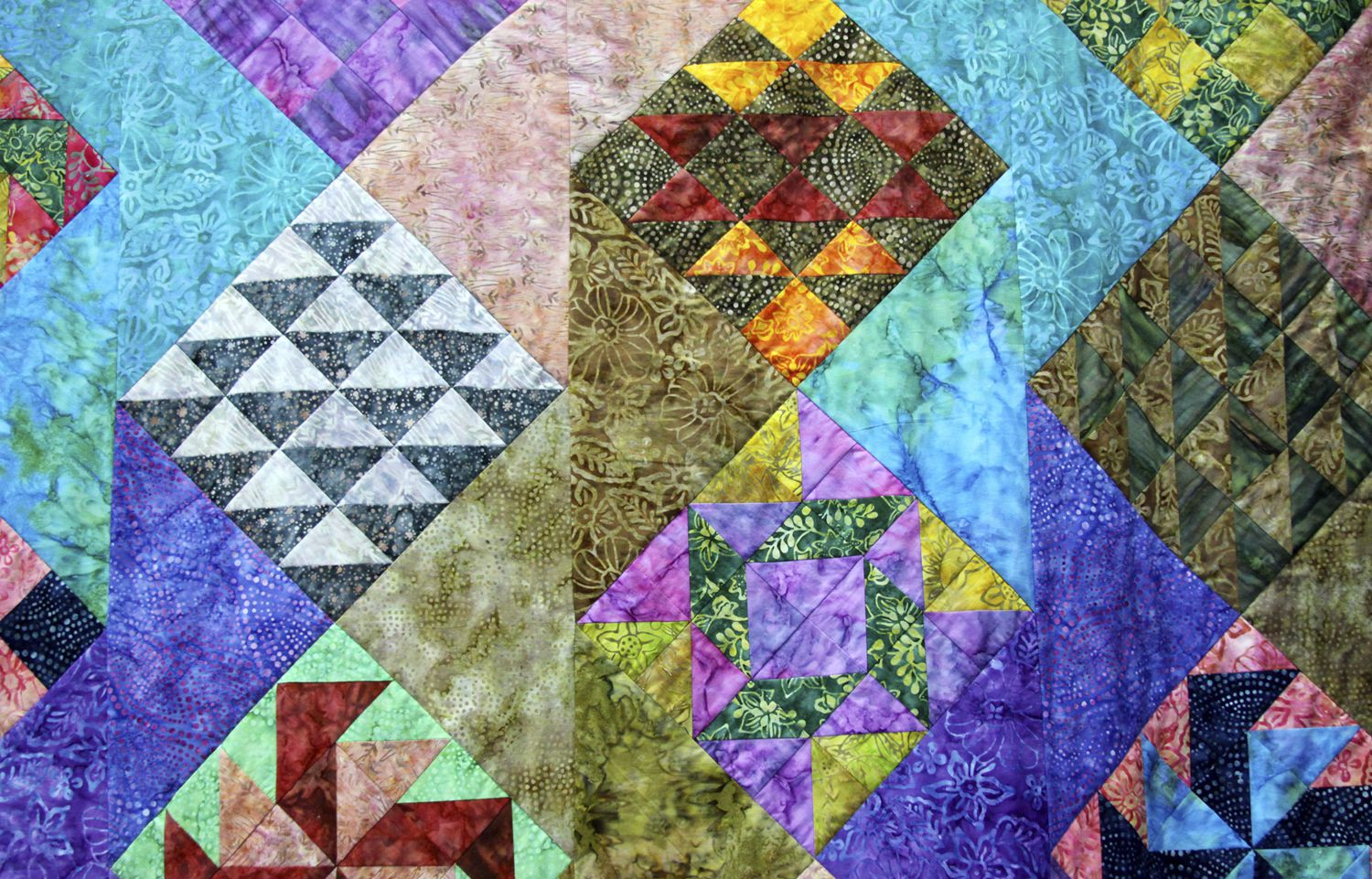 This is an image of Shocking Printable Quilt Patterns