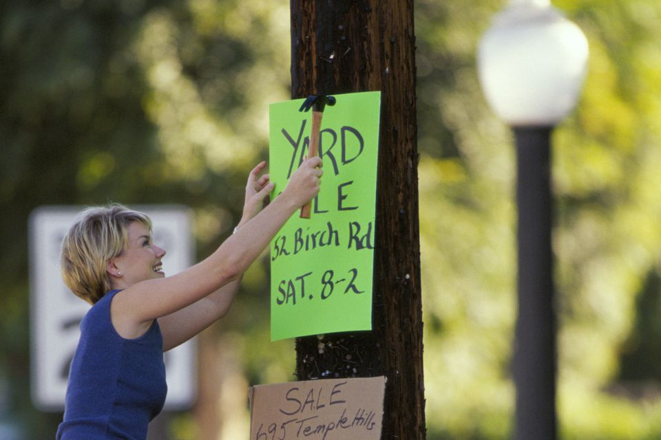Making yard sale signs is a crucial part of yard sale advertising