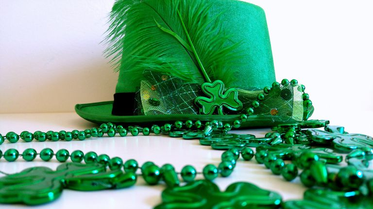 St. Patrick's Day is a good holiday for science projects.