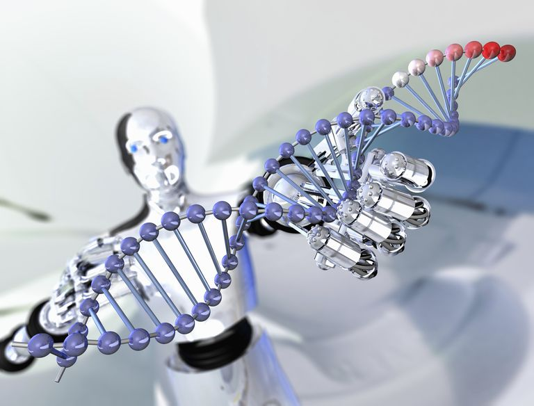 DNA and RNA are nucleic acids that code genetic information.