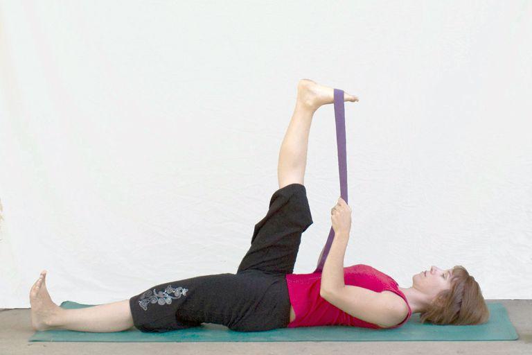 Reclined Big Toe Pose- Supta Padangustasana