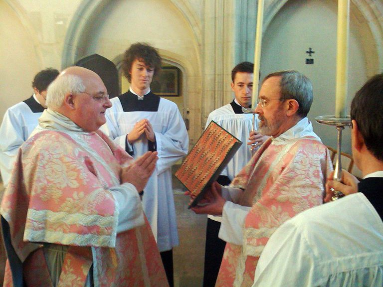 The Gospel at the Solemn Mass on Laetare Sunday, Pusey House.