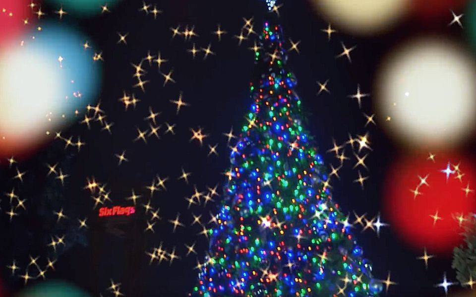 Christmas at Six Flags 2017 - Holiday in the Park