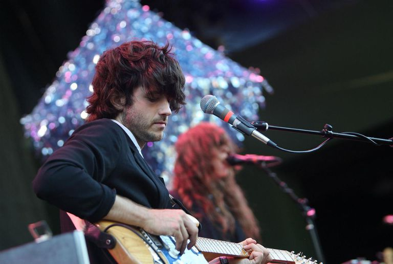 Guitarist Alex Scaly and his band Beach House