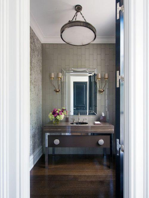 10 Pretty Powder Rooms We Love
