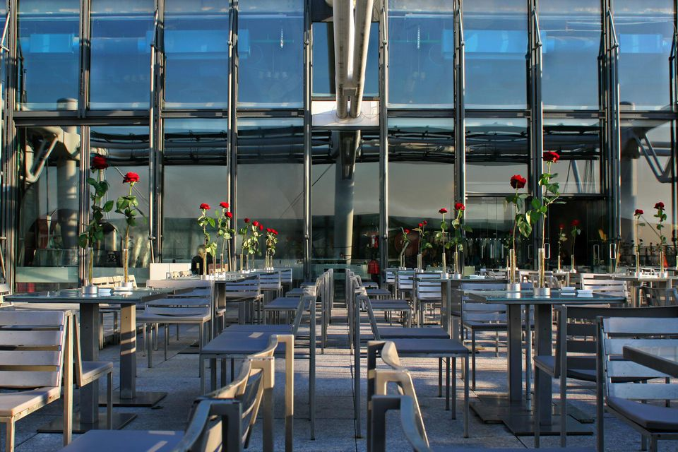 Restaurant Georges at Le Centre Pompidou.
