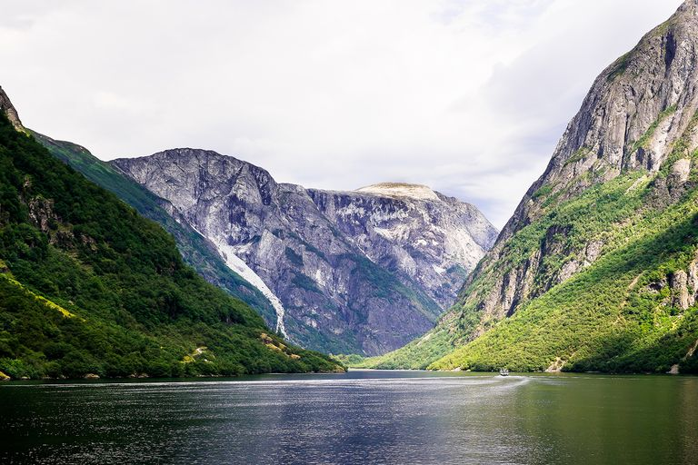 Beautiful view of the fjord in Norway.