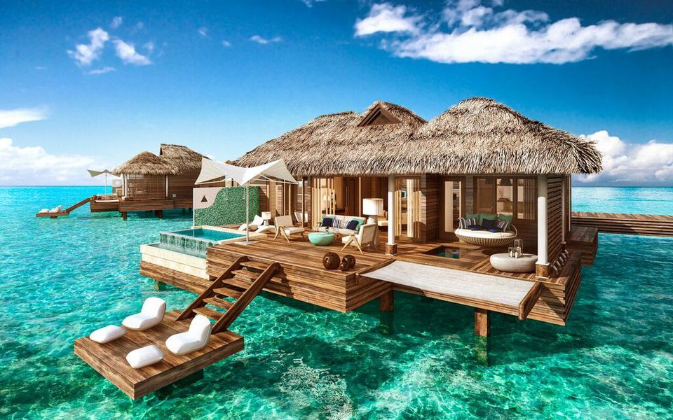 Overwater Suites at Sandals Royal Caribbean