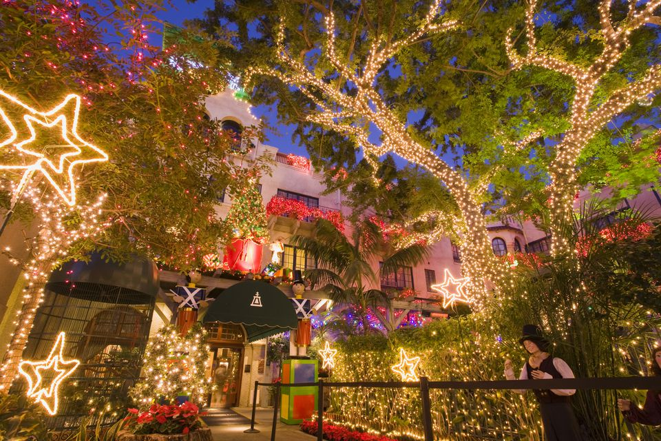 Los Angeles Christmas Lights