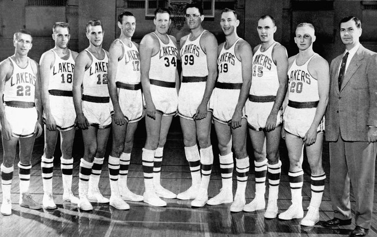 1953-54 NBA World Champion Minneapolis Lakers