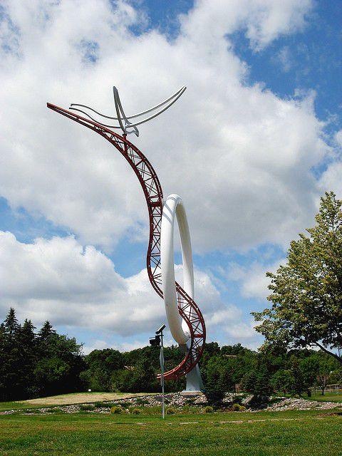 University of Minnesota Duluth Sculpture