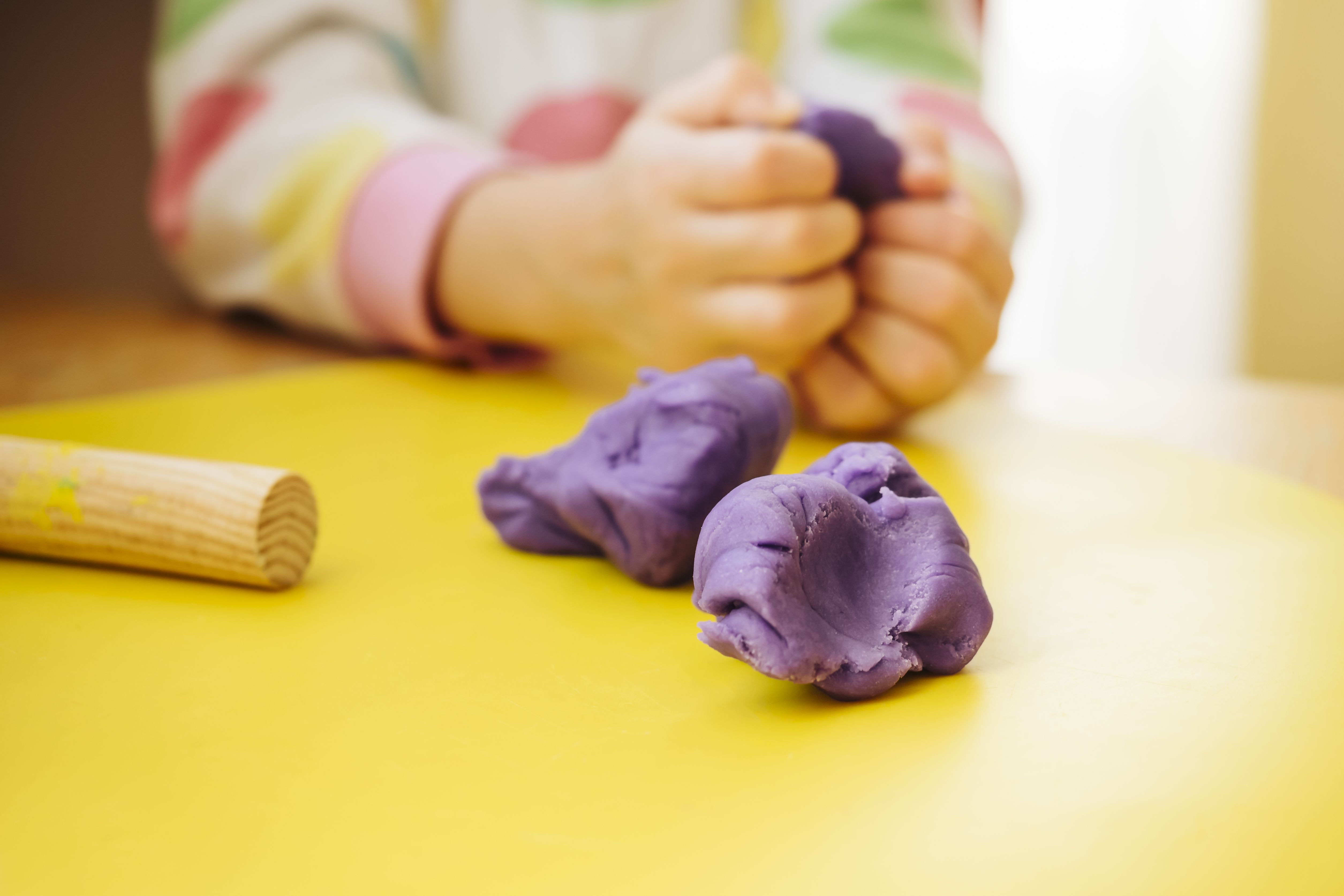When Is It Safe for Your Toddler to Eat Play Dough?