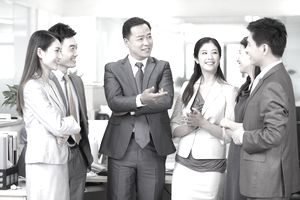 Communication and appearance make a huge impact when business people are networking.