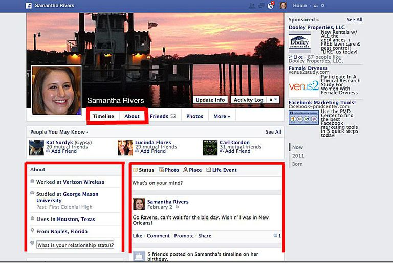 how to edit your facebook profile