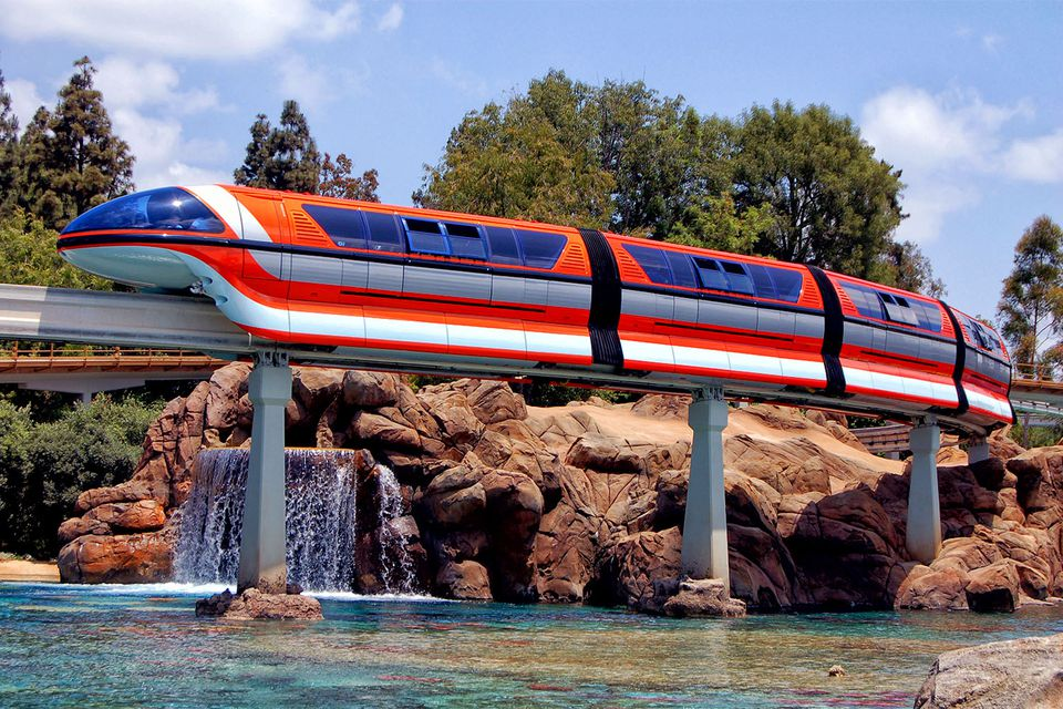 Image result for disneyland ca monorail