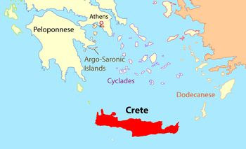 Cyclades Map and travel Guide