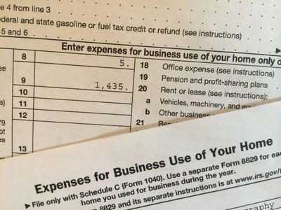How to Calculate Your Home Business Space Deduction