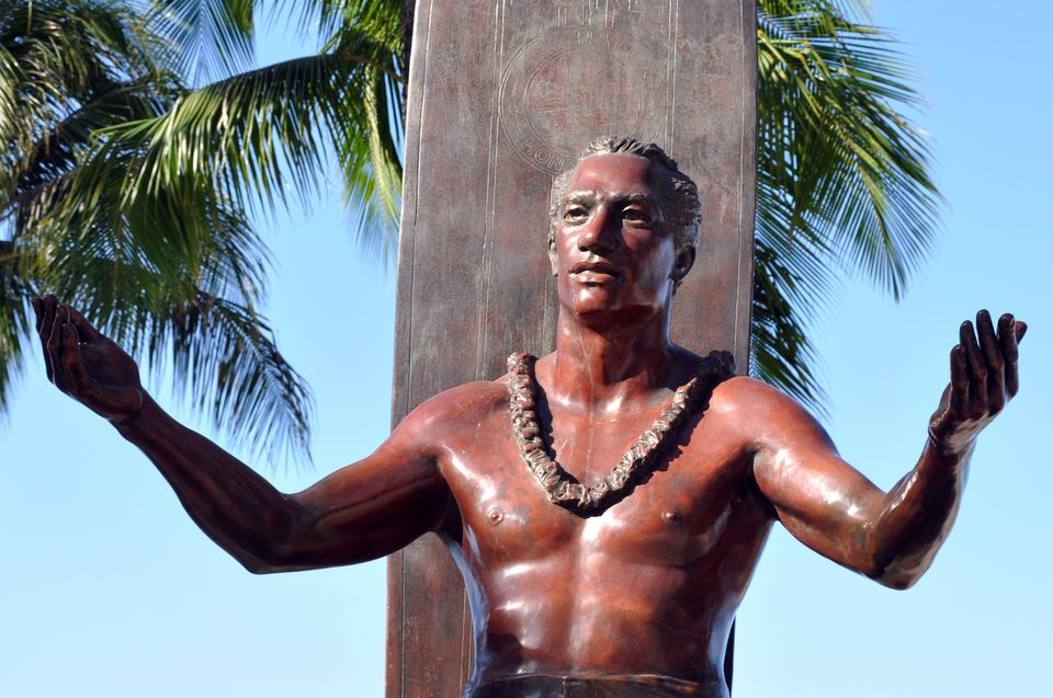 Statue of Duke Kahanamoku in Waikiki