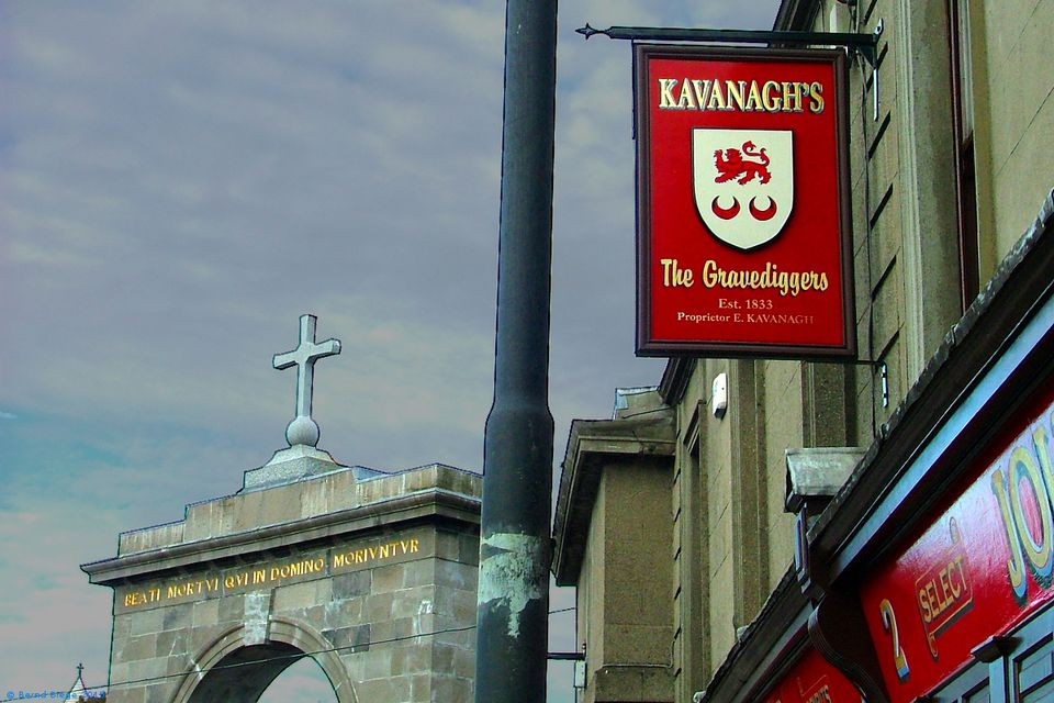 Where the Glasnevin gravediggers rehydrated ... Kavanagh's