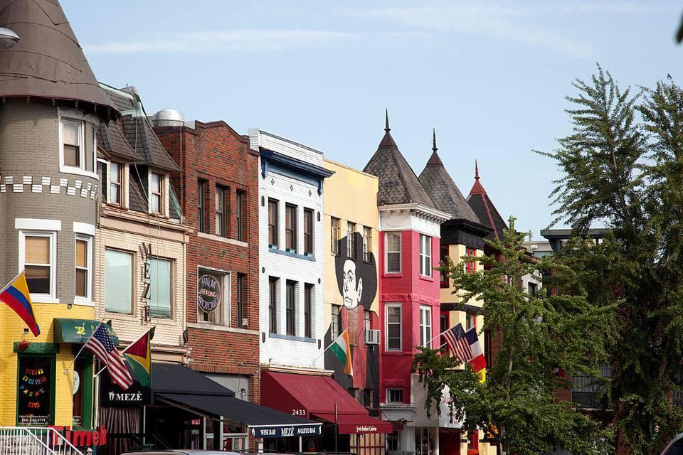 Adams Morgan is a culturally diverse neighborhood in NW, Washington, D.C.