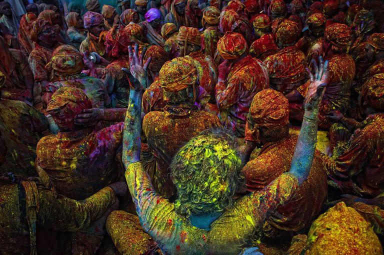 Holi Festival Hindu Bhavagad Gita