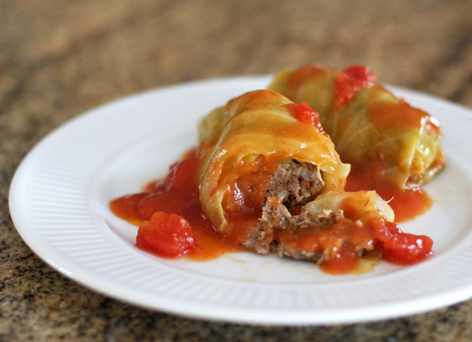 Cabbage Rolls, Baked