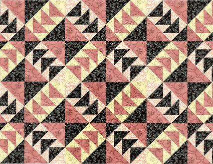 Rising Star A 12 Quilt Block Pattern